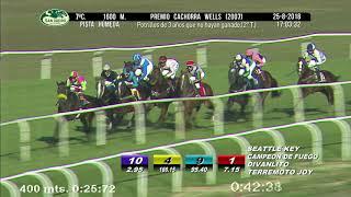 Vidéo de la course PMU PREMIO CACHORRA WELLS 2007 (2O TURNO)