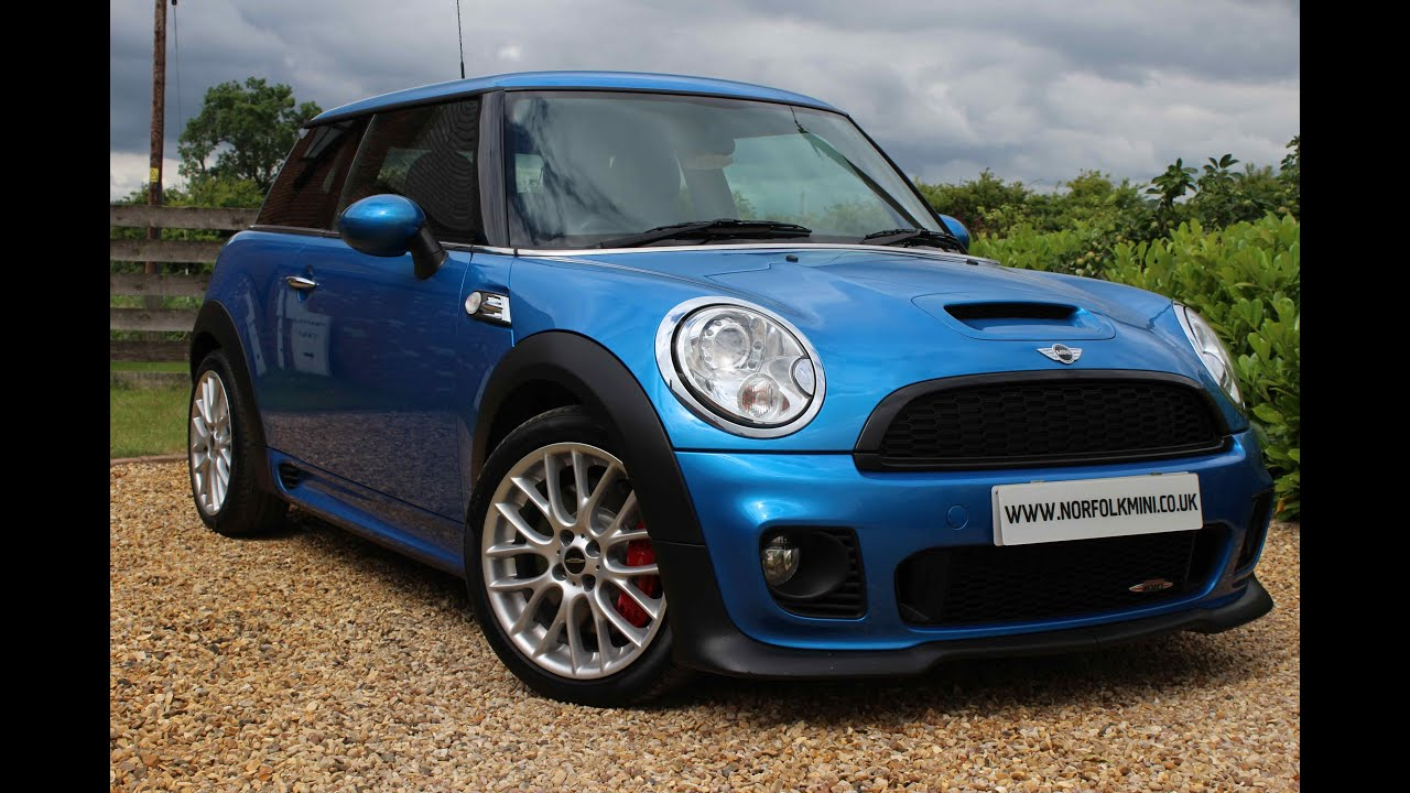 2010 mini jcw john cooper works laser blue youtube. Black Bedroom Furniture Sets. Home Design Ideas