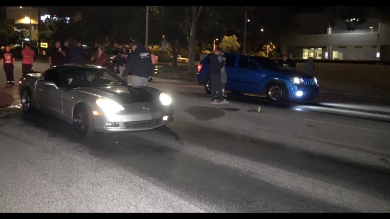Boosted Jeep Vs C6 Corvette $3,200