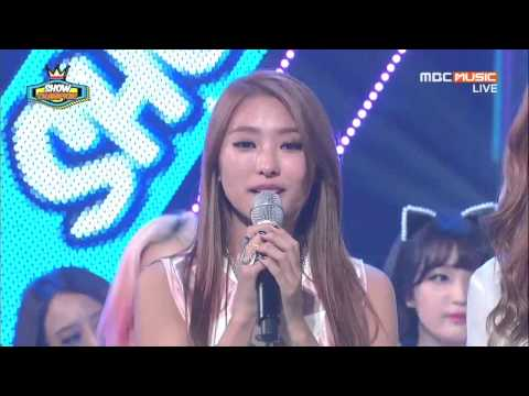 SISTAR Talked About Ladies Code EunB and RiSe Death on Show Champion Win