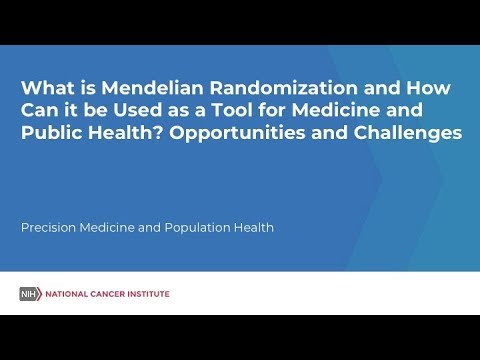 What Is Mendelian Randomization And How Can It Be Used As A Tool For Medicine And Public Health?