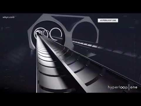 Study maps Hyperloop route from Chicago to Cleveland