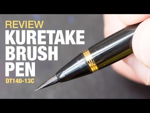 Kuretake Calligraphy Pen Writing Brush Pen DV140-40 Genuine Writing Brush