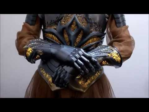 3D-printed 'Sovereign Armor' is the most amazing cosplay creation ever