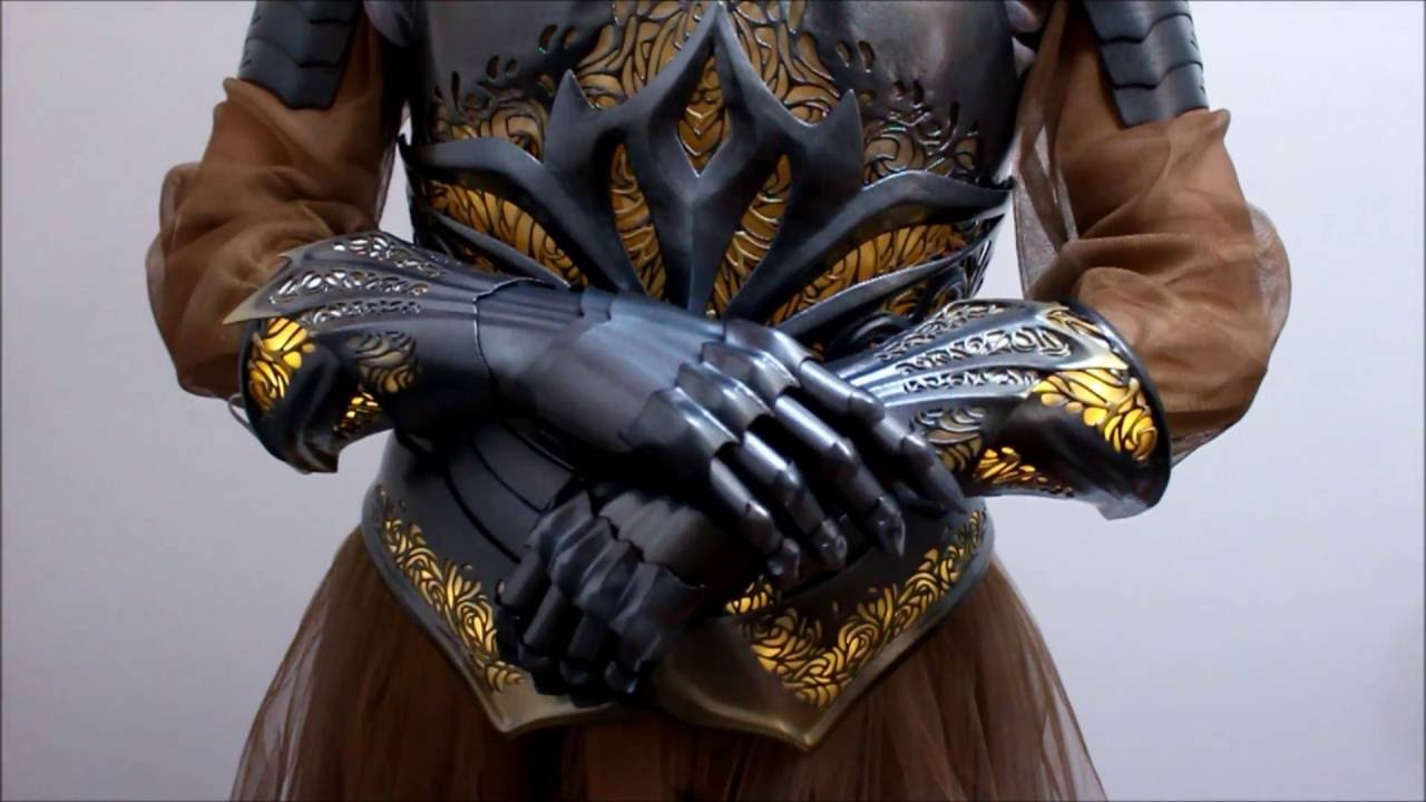 Making the 3D Printed Sovereign Armor by Lumecluster