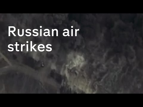 Russia starts air strikes in Syria thumbnail