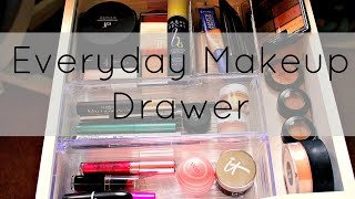 Everyday Makeup Drawer | December 2014 Thumbnail