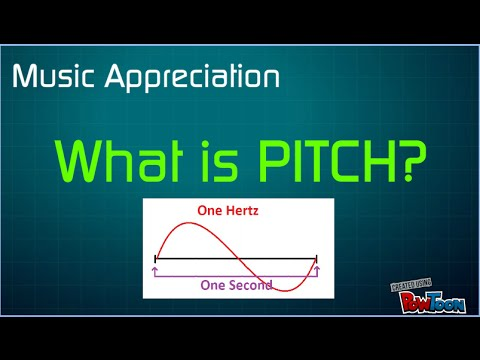 What Is Pitch?  Music Appreciation