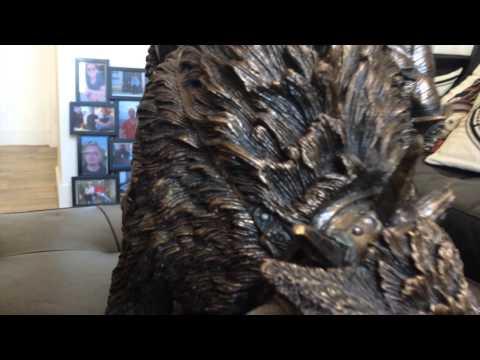 2007 WolfRider Orc Statue -  WETA -  Blizzard Staff Only