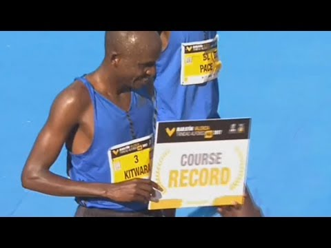 Valencia Marathon 2017 Course Record – Full Race HD