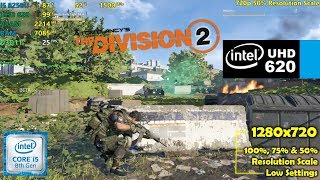 The division 2 on intel hd 4400