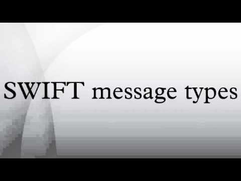 SWIFT message types