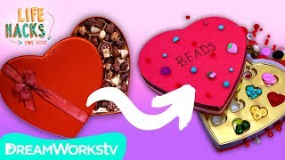 Upcycled Valentines Hacks | LIFE HACKS FOR KIDS