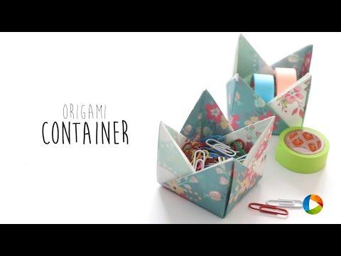 DIY: Origami Container