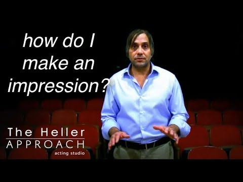 FREE ACTING LESSON: Making An Impression