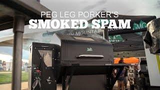 Pellet Smoked Spam