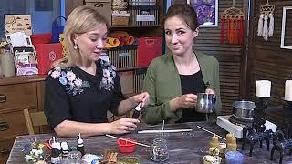 Смотреть видео Канал Санкт-Петербург - Хорошее утро. Делаем свечи из вощины. онлайн