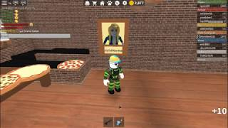 ROBLOX WORK AT A PİZZA PLACE İ BOUGHT MANAGER TELEPORT ! (REVİEW)