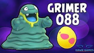 Alolan Grimer hatched - Generation 7 Pokedex 088 - Pokemon GO [No Hack]