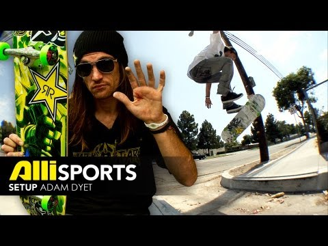 Adam Dyet Skateboard Setup - Alli Sports