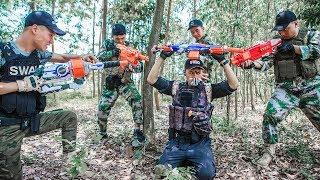 LTT Nerf War : SEAL X Warriors Nerf Guns Fight Attack Criminal Group Rescue Girlfriend