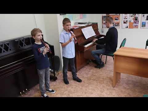 Полька Д. Шостакович, ансамбль блок-флейт