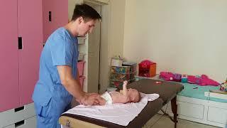 Массаж грудничку/массаж новорожденному/массаж ножек малышу от рождения до 6 месяцев