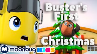 Buster's First Snowy Christmas + MORE   Go Buster!   Stories & Kids Songs   Stories for Kids