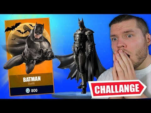 BATMAN in Fortnite... Steel vs Standartskill