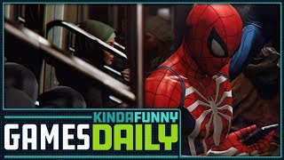 Spider-Man PS4 Questions Answered - Kinda Funny Games Daily 09.04.18