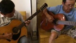 Histoire D'un Amour - Giao lưu guitar chú Lộc (solo) và chú Phi (accord).