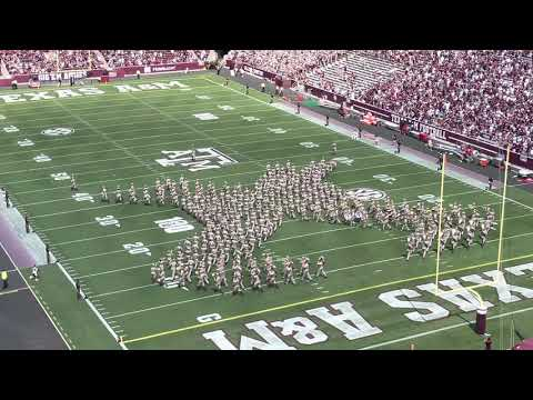 Fightin' Texas Aggie Band - A&M vs. New Mexico - 9/18/2021