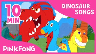 Tyrannosaurus Rex | Dinosaur & Animal Songs | + Compilation | PINKFONG Songs for Children