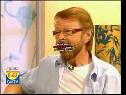 BENNY & BJORN FROM ABBA - UK TV INTERVIEW...
