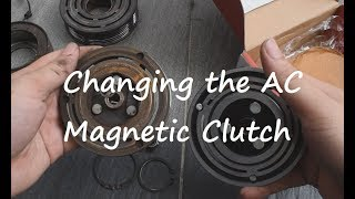 Inspira/Lancer 08 - Replacing the AC Magnetic Clutch