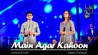 Main Agar Kahoon - Om Shanti Om (2008) (Cover by Shalutha Rajapaksha and Kithmini Herath)