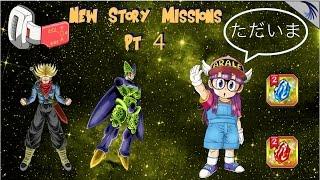 嵐の前の静けさ 3.4 update, New Story pt 4, Blue stones, Arale returns, GW, and more: DBZ Dokkan (JP) 嵐 動画 4