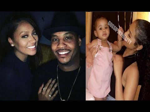 First Adorable Photo Of Carmelo Anthony's