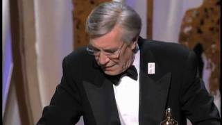 Martin Landau Wins Supporting Actor: 1995 Oscars