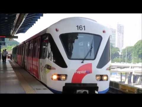 Rapid KL LRT Malaysia. Kelana Jaya Line