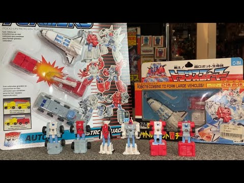 Transformers Vintage G1 Complete Astro Squad Micromaster Collection by Toys Are Russ