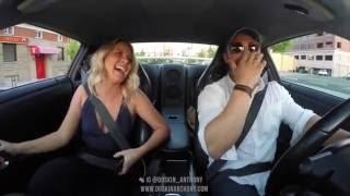 700HP GTR Girlfriend Launch Control Reaction - Hilarious!
