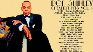 Don Shirley - Greatest Hits 1 (FULL ALBUM - OST TRACKLIST GREEN BOOK)