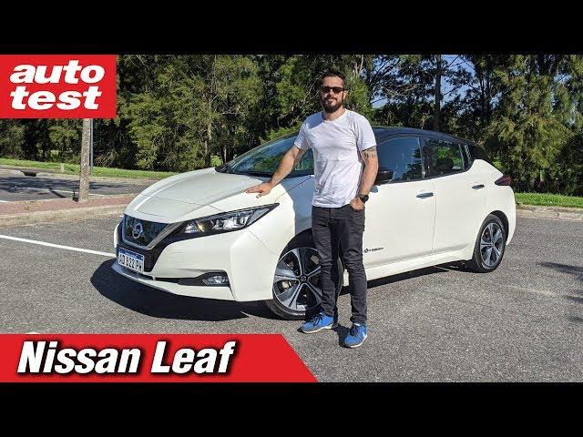 Te mostramos en detalle el auto 100% eléctrico de Nissan y te contamos cómo se usa