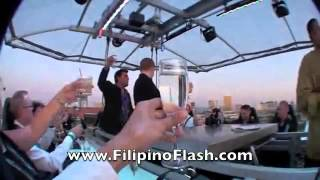 a video box las vegas dinner in the sky es