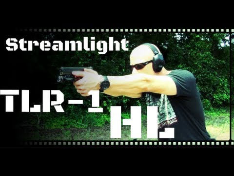 Streamlight TLR-1 HL 630 Lumen Weapon Light Review (HD)