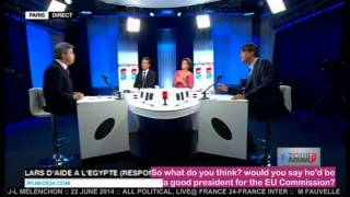 J-L MELENCHON :: 22 JUNE 2014 :: Pt 3 of 3:: ALL POLITICAL English subtitles