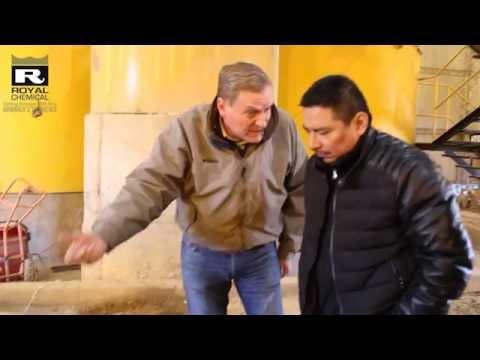 LIXIVIACION DE ORO EN TANQUE METODO GOLD MAX PLANTA ORURO EN BOLIVIA