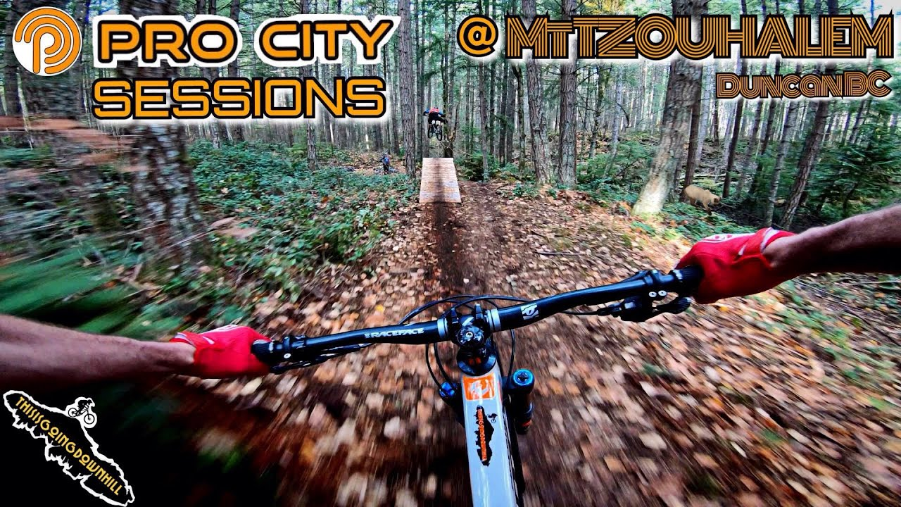 Mountain Biking on Vancouver Island - Pro City Sessions Mt Tzouhalem