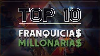 Top 10 | Franquicias que más dinero han generado en los videojuegos